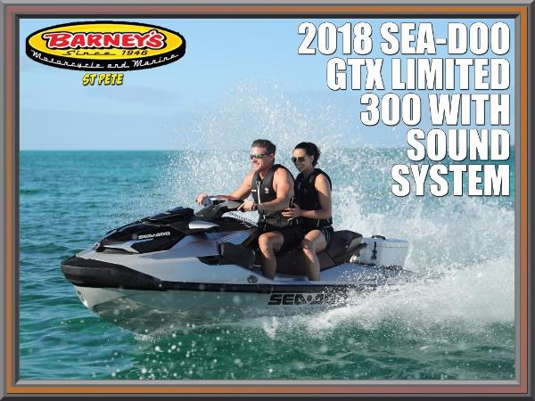 Sea-Doo GTX Limited 300 IBR With Sound