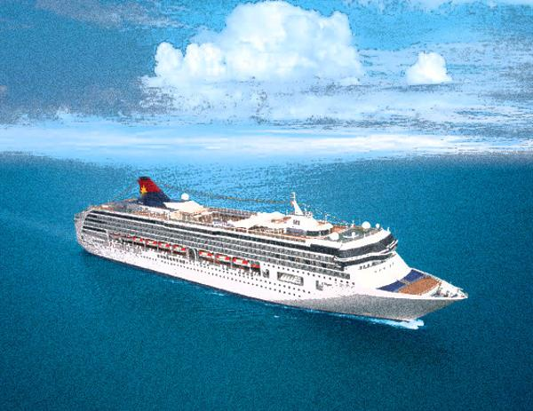Cruise Ship, 1750 Passengers -Stock No. S2447