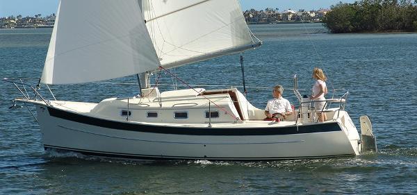 Seaward 26RK Seaward 26 sailing