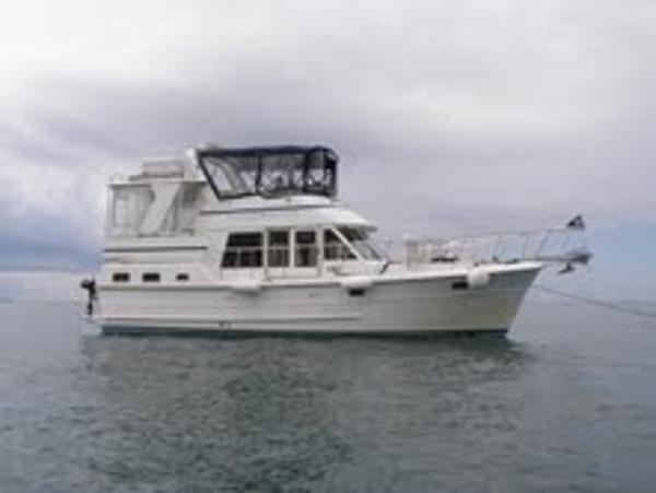 """Heritage East Sundeck """"Jim-O"""" 2001 Heritage East 36 Sundeck Trawler"""