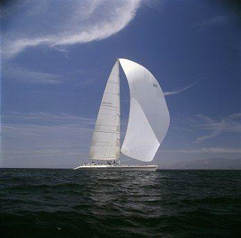 Under Full Sail!