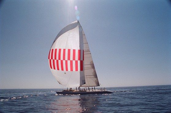 Flying the Spinnaker: Side Profile