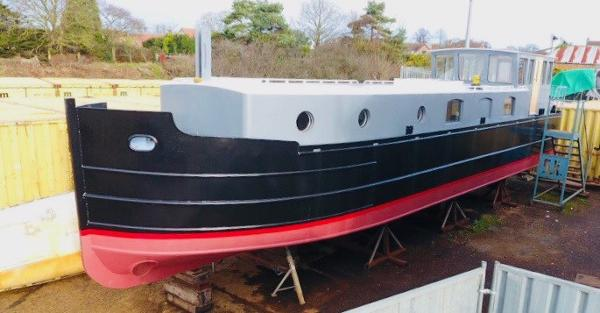 Barge - 51ft Bespoke New-Build Steel New Build 51ft Steel Barge
