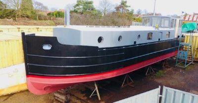 Barge - 51ft Bespoke New-Build Steel New Build 51ft Steel Barge