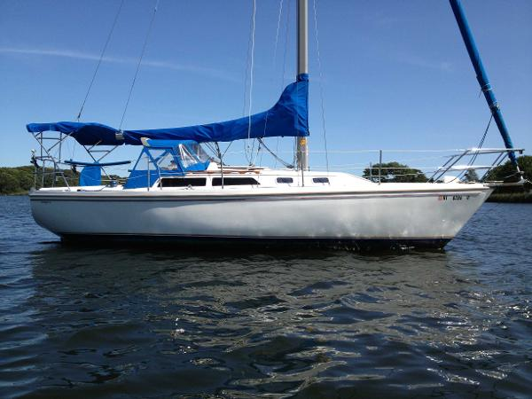 Catalina 30 Tall Rig Scarecrow