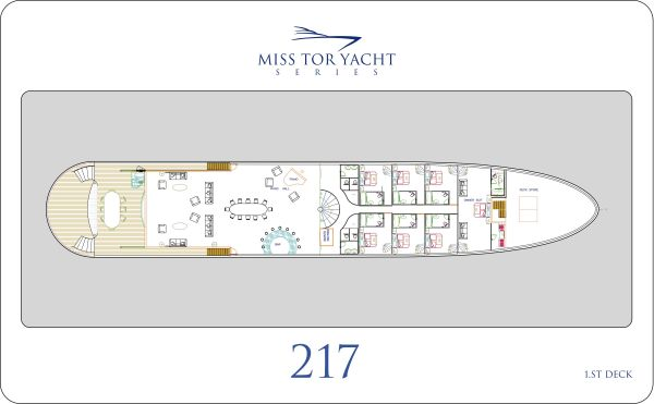Miss Tor 220 - Main Deck