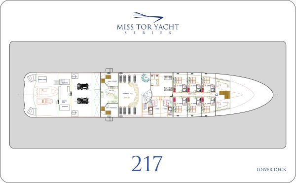 Miss Tor 220 - Lower Deck