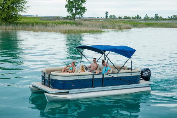 Crest Pontoon Boats Crest II 250SL