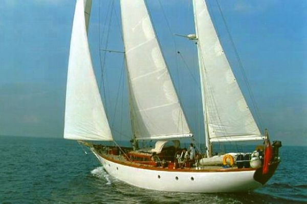 Alan Pape / Williams Boatyard  Alan Pape 73' Ketch