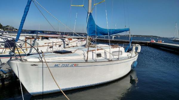 Morgan Sloop Port side in the water