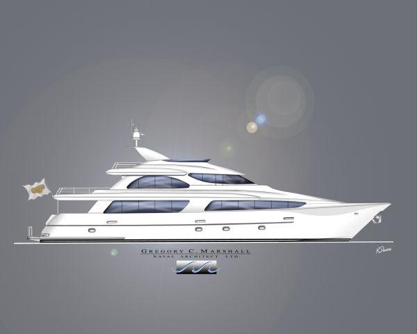 SonShip built by West Bay Shipyards Skylounge Tri-Deck 110 Photo 1