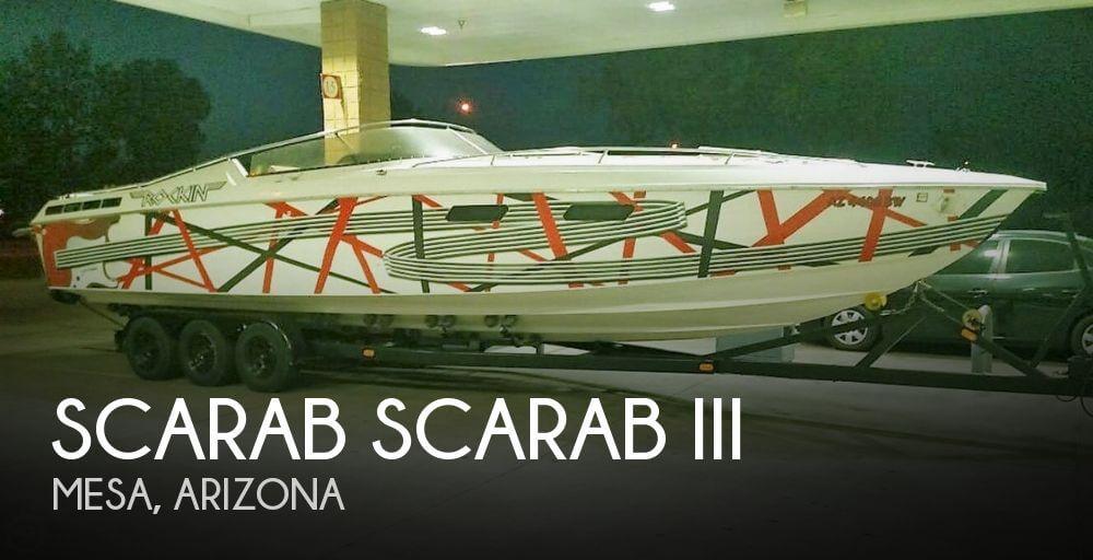 Scarab 34 1984 Scarab 34 for sale in Mesa, AZ