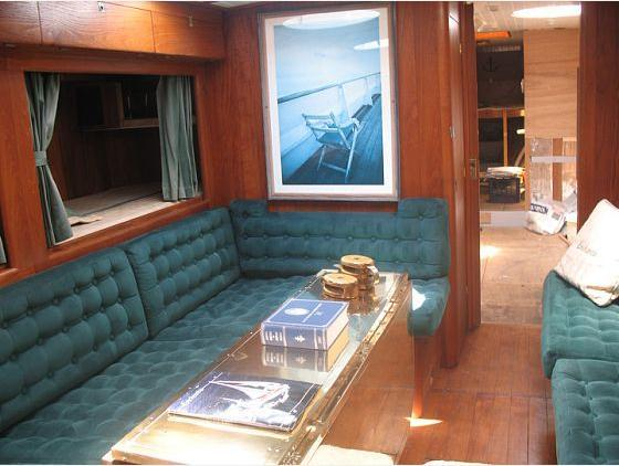 Saloon to Port Looking Forward into Galley