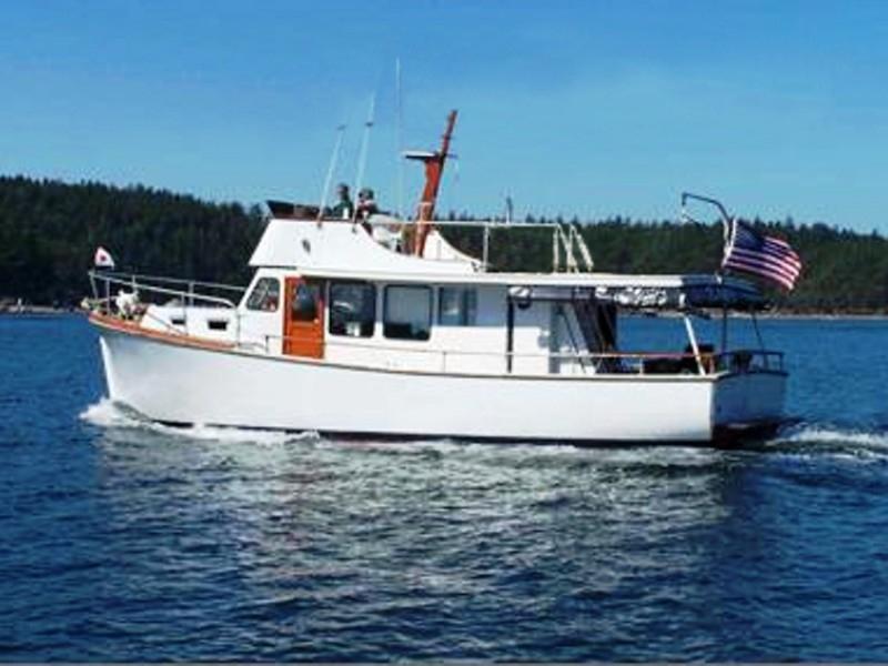 Nordlund 38 Sedan Trawler