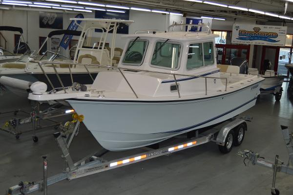 Steiger Craft 23 Chesapeake Pilothouse