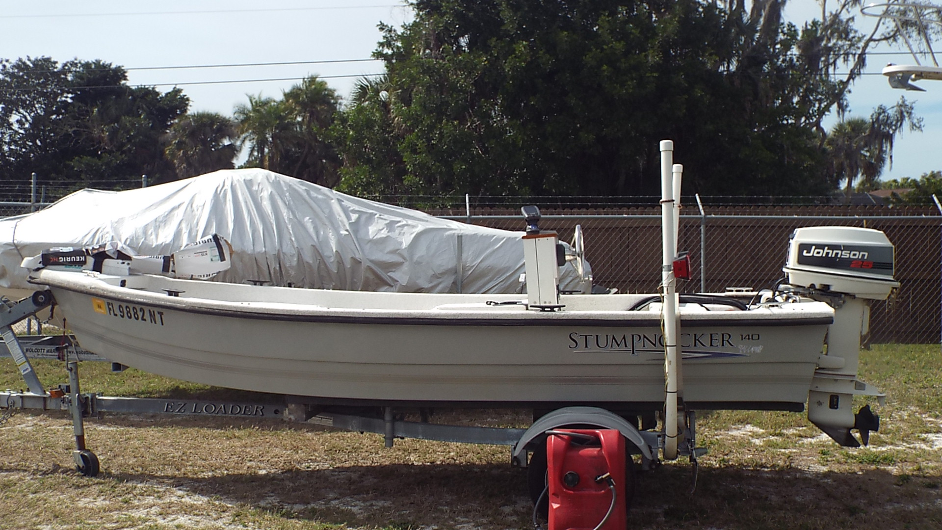 Stumpnocker Bay boat