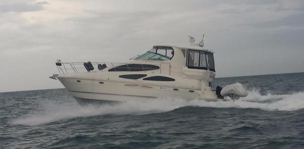 Cruisers Yachts 415 Express Motoryacht 2007 CRUISERS 415 EXPRESS MOTOR YACHT RUNNING PROFILE