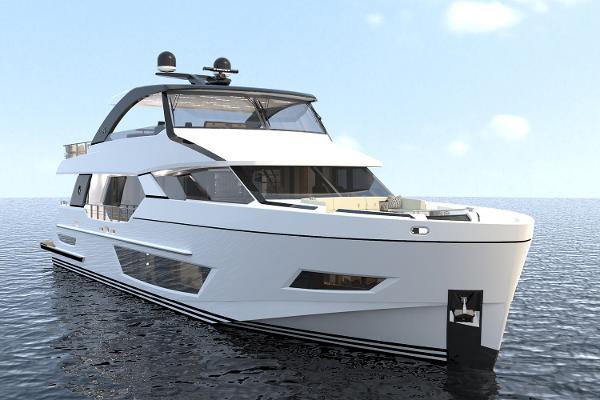 Ocean Alexander 84R Open Bridge Motoryacht