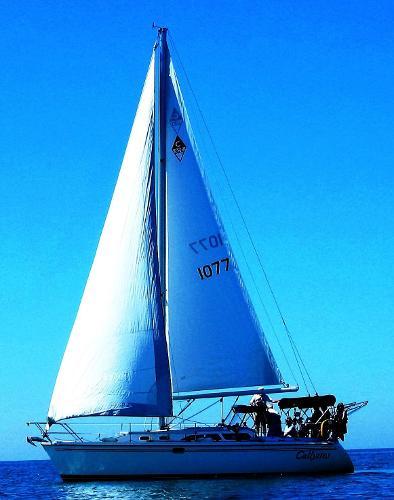 Catalina 320 Callystos Under Sail