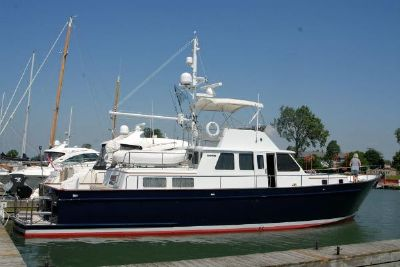 Kanter Sedan Flybridge 59' Kanter Sedan Flybridge Motor Yacht GREAT BLUE