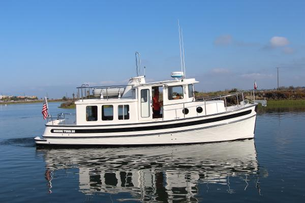 Nordic Tugs 32 Starboard Profile