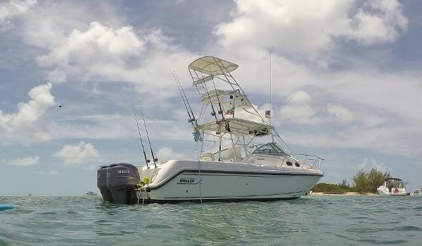 Boston Whaler 28 Conquest Starboard Profile