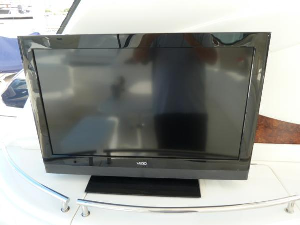 new cockpit flat screen TV