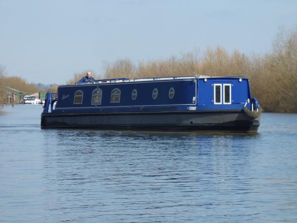 Wide Beam Narrowboat 56 x 10 Sea Otter