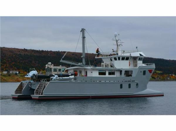 Ocean Voyager EXPEDITION  MOTORYACHT Profile