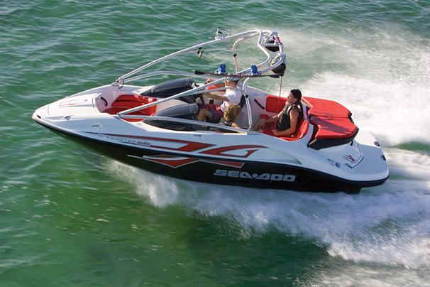 Sea-Doo Sport Boats Speedster Wake Manufacturer Provided Image
