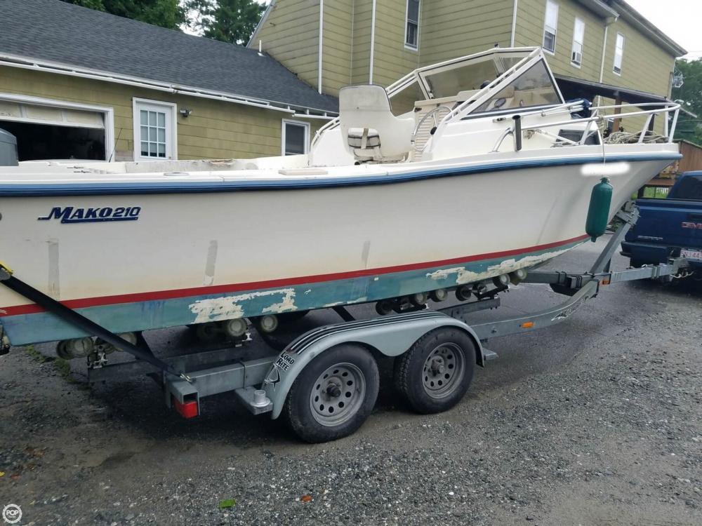 1992 Mako 210 walkaround, Lowell Massachusetts - boats.com