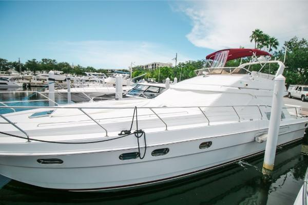 Princess 55 flybridge