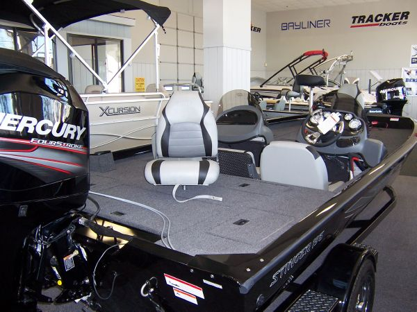 Lowe 195 Stinger dual console