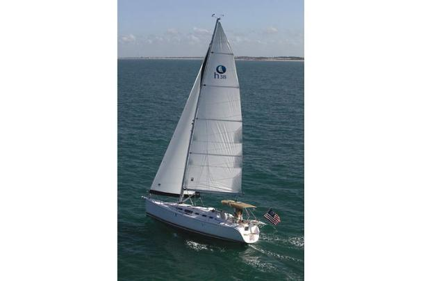 Hunter 38 Manufacturer Provided Image: Hunter 38