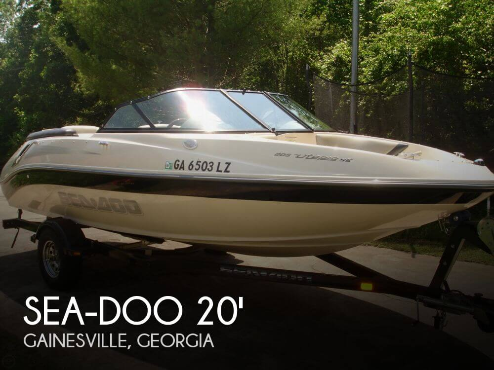 Sea-Doo 205 Utopia 2007 Sea-Doo 205 Utopia SE for sale in Gainesville, GA