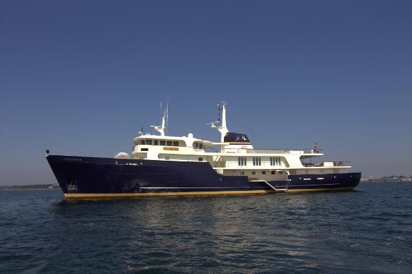 Amels Shipyard, B.V. Expedition Yacht INTUITION II