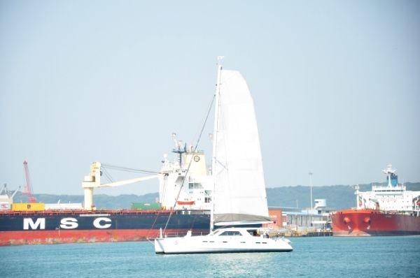 GeenCat 605 Sail trail
