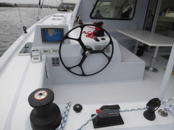 GreenCat 605 cockpit