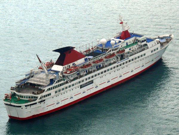 Casino Cruise Ship, 650 to 775 Passengers -Stock No. S2503