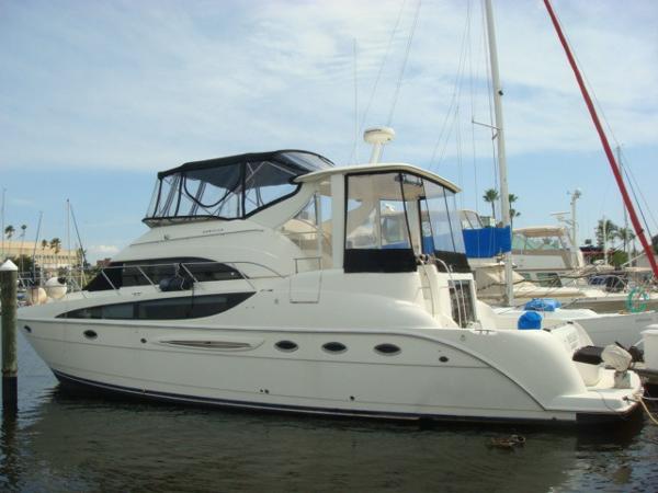 Meridian 459 COCKPIT MOTORYACHT 48' Meridian 459 port profile