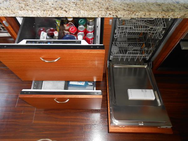 Dish washer, Fridge and freezer drawers