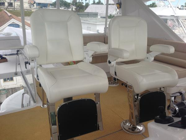 Upgraded Helm Chairs