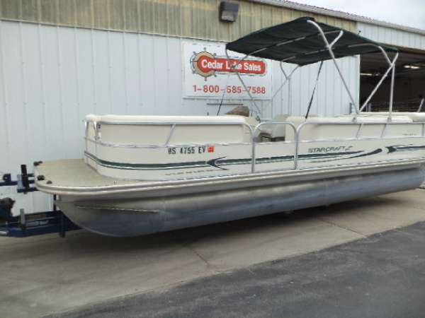 STARCRAFT MARINE 220 ELITE PONTOON