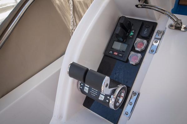 Princess 68 Third Station Cockpit Controls