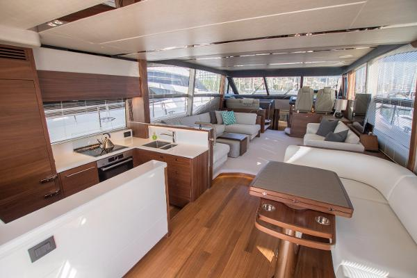Princess 68 Main Deck Saloon