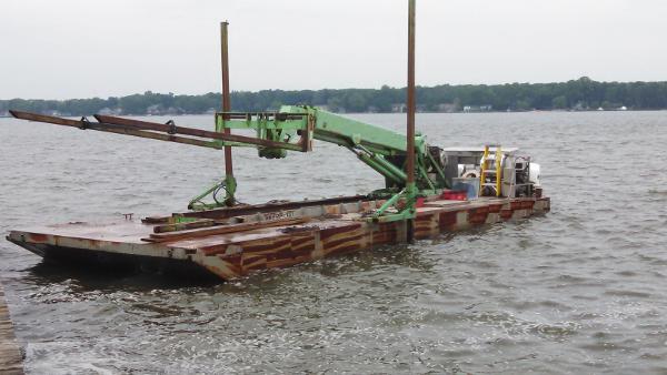 Commercial 40' Steel Fork Barge