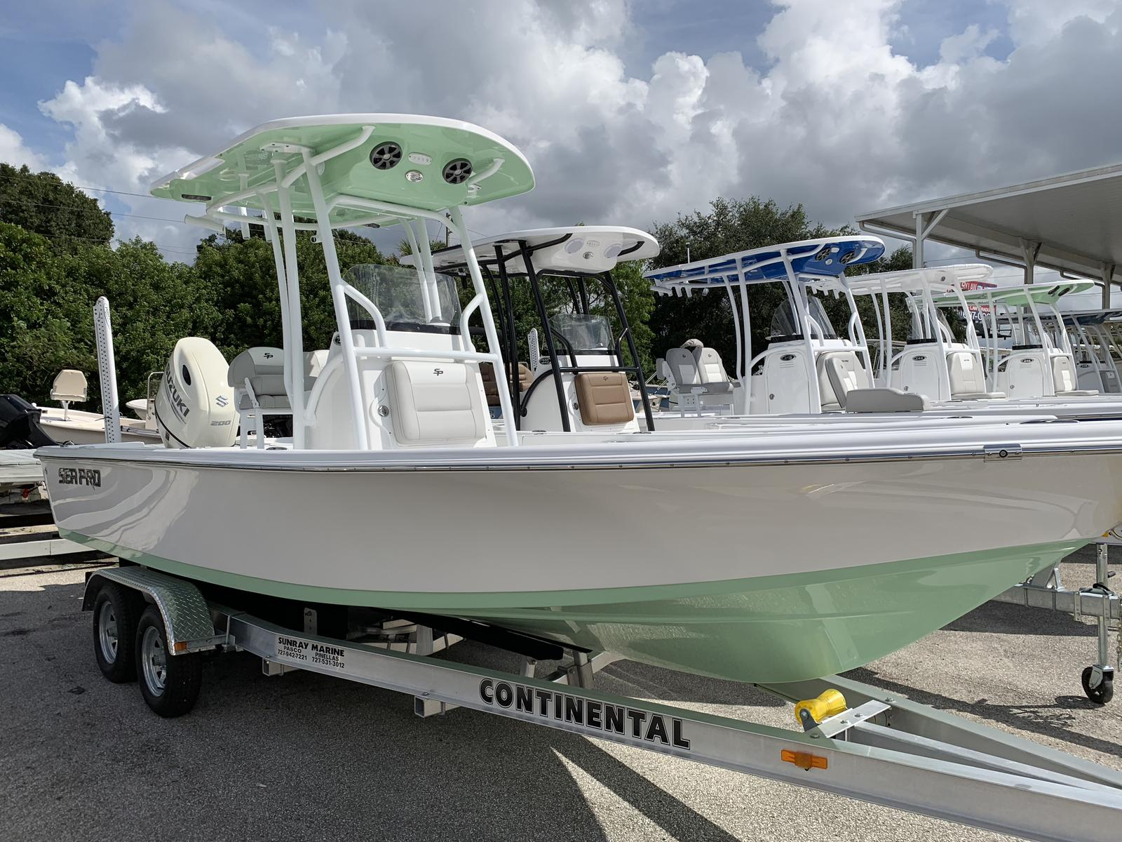 Sea Pro 228 Bay Series