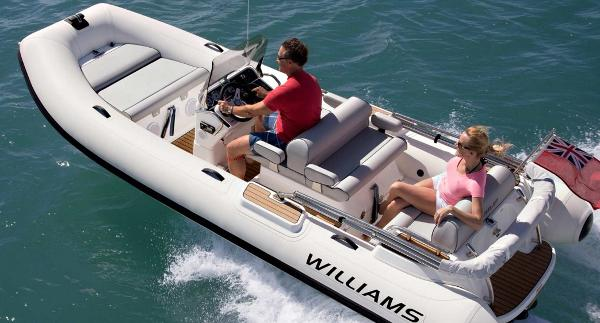 Williams Jet Tenders Dieseljet 505 Williams Jet Tenders Dieseljet 505