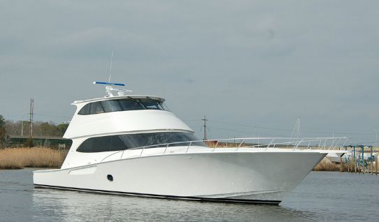Viking 82 Enclosed Bridge Profile