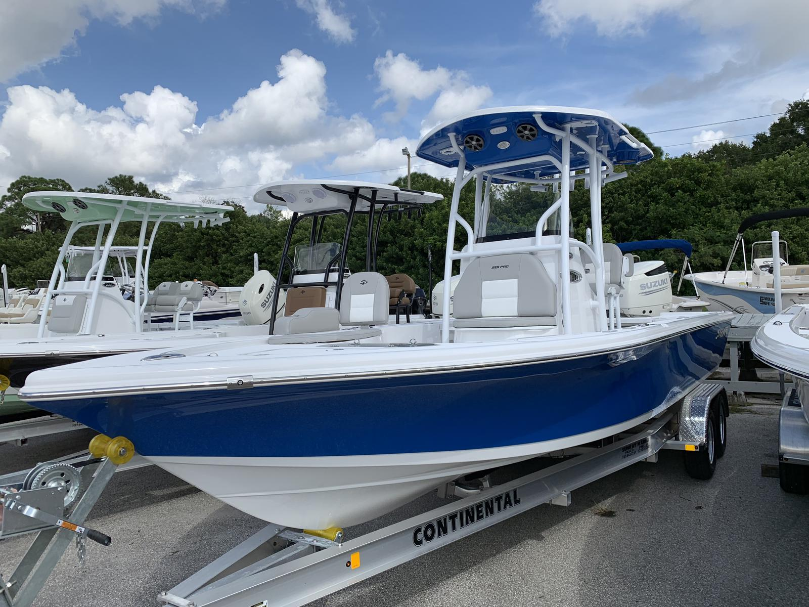 Sea Pro 248 Bay Series